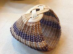 6 Josephine knot ribbed basket (Sandy Bulgrin class, woven by Valentina Hall)