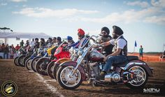 Sikh Motorcycle Club rides for charity