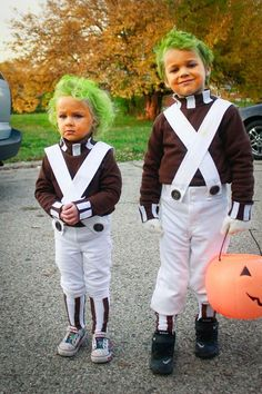 Disfraces que debes ponerle a tu bebé antes de que sea muy tarde | Pinterest | Umpa lumpa Costumes and Halloween costumes  sc 1 st  Pinterest : matching halloween costumes for kids  - Germanpascual.Com