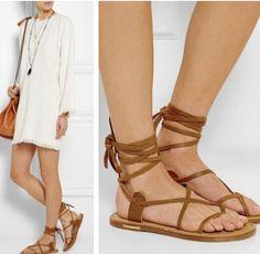 Isabel-Marant-Brown-Genuine-Leather-font-b-Calf-b-font-Summer-Women-font-b-Sandals-b
