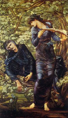edward burne-jones | Edward Burne-Jones (Edward Burne Jones) (1833-1898)