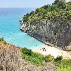 Xigia beach, Kefalonia island, Greece