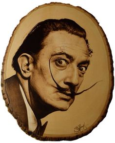 This Salvadore Dali burning was very well done by Suzy Roach...what a terrific pyro work!