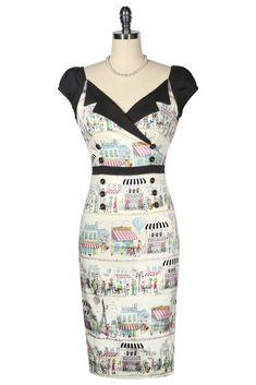 La Petite Boutique Wiggle Dress – Kitten D'Amour