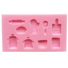 Funshowcase Baking Fun Candy Silicone Mold for Cake Decorate Clay Crafting -- This is an Amazon Affiliate link. You can find more details by visiting the image link.