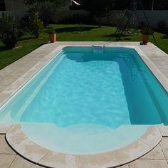 Kit piscina in vetroresina
