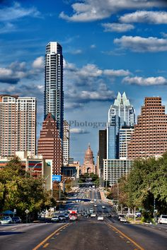 The street was busier when I went to Austin, TX last January 2013.  Nice place to visit!