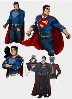 Had this very simple design idea for Superman… nothing major mostly inspired by the look during Grant Morrison and Rags Morales run on Action Comics during the … Thats my favourite look for. Mundo Superman, Superman Suit, Superman Cosplay, Comic Book Artists, Comic Books Art, Comic Art, Marvel Comics Superheroes, Dc Comics Art, Batman Redesign