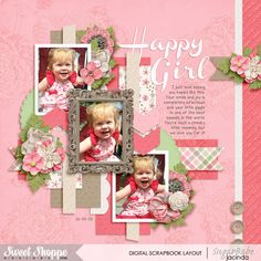 Template Set 162 by Cindy Schneider Fairytale by Amber Shaw KG First Time in Forever font