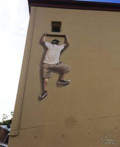 Sydney, Australia: nuovo pezzo dello street artist messicano Peque VRS.