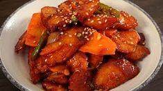 White Kimchi Baek-kimchi 백김치 http://www.maangchi.com/recipe/uhmook-bokkeum