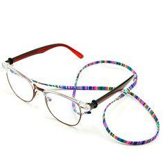 40310298ae  AliExpress Fashion Retro eyeglass Sunglasses Cotton Neck String Cord  Retainer Strap Eyewear Lanyard Holder with