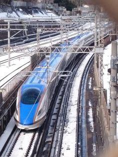 北陸新幹線 雪景色 - Google 検索