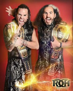 The Greatest Tag Team Of Time And Space ROH Tag Champs The Hardys