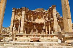The Nymphaeum at Jerash, Jerash, Jordan