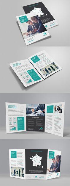 Plaquette 6 pages BY SOLUCE créée par Public ID (www.public-id.fr)