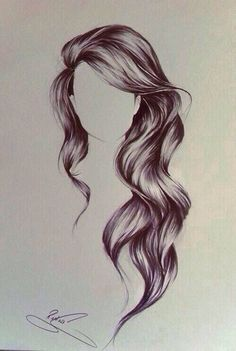 Tumblr Girl Hair Drawing | curly-hair-drawingdrawing-hair-girl-fashion-style-dream-want-wavy ...