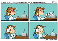 Música para ser feliz!