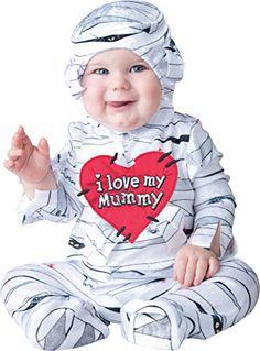 InCharacter Costumes Baby's I Love My Mummy  Costume, White, X-Small InCharacter http://www.amazon.com/dp/B00TM53HRM/ref=cm_sw_r_pi_dp_sDLhwb041MRM9