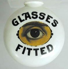 Optician-Trade-Sign-Milk-Glass-sold-by-Julia-Auctions