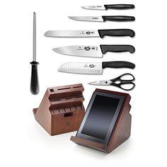 Victorinox Fibrox Professional 13 Piece Cutlery Set With Swivel Knife Block & Tablet Recipe Holder Victorinox http://www.amazon.com/dp/B00NHYK24A/ref=cm_sw_r_pi_dp_GHRivb0X2AWGK