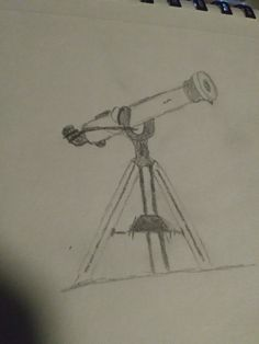 Refracting telescopes are helpful for enlarging an object in the distance.  The telescopes take light and put it through different materials in order to make the speed of light either faster or slower.  Using this, they can make the image that the light is reflecting from bend to make it more clear.  They also utilize that light and condense it to make it more focused and larger.  This drawing is from myself.