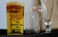 (Francisco Kjolseth | The Salt Lake Tribune)  Fisher Brewing Co. memorabilia is…