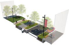DALDY + HALSEY STREET Upgrade | Wynyard Quarter | Under Construction - SkyscraperCity