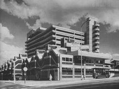 Trinity Square Shopping Centre, Gateshead, Tyne and Wear, UK, 1967  (Owen Luder Partnership)