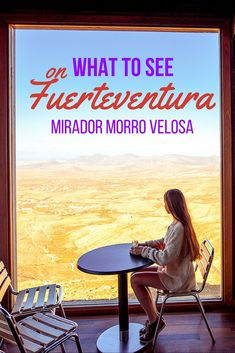 What to see on Fuerteventura - Mirador Morro Velosa Tenerife, Lets Run Away, Online Travel, I Want To Travel, Canario, Canary Islands, Spain Travel, Far Away, Travel Guides