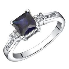 LOVE sapphire engagement rings.