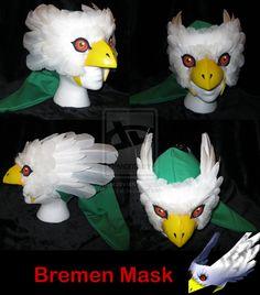 Bremen Mask by ~Arizzel on deviantART