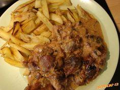 ZAPEČENÉ VEPŘOVÉ SE SYREČKY (úděsný smrádek při pečení:-)ale nakonec stojí za…