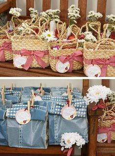 Baby Guide Festa Infantil: Pic Nic no Jardim por Mog & Mug Mais Picnic Theme, Picnic Birthday, 2nd Birthday, Birthday Parties, Masha Et Mishka, Party Gifts, Party Favors, Festa Party, Farm Party