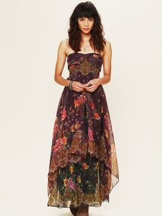 Indian Enchantment Dress at Free People Clothing Boutique