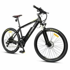 Details About Electric City Bike 26 Inch 350w 36v Bicyle 21 Speed