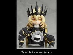 2nd Entry Chance!! Otacute Black Rock Shooter Chariot with Mary Giveaway