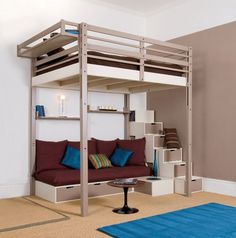 High Loft Bed - this architecture education, design and project reference on this ARCHITECTURE