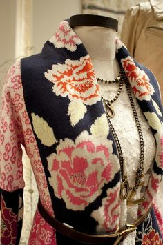border pattern sweater