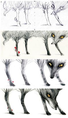 Adolfo Serra. Little Red Ridding Hood´s process,