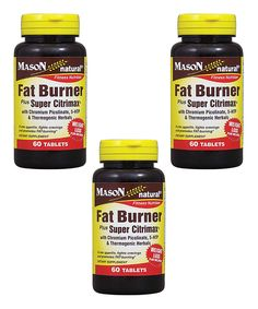 Loving this 60-Ct. Fat Burner Super Citrimax Tablets - Set of Three on #zulily! #zulilyfinds
