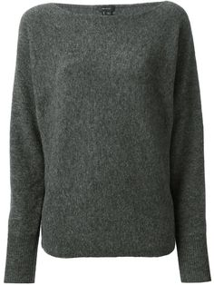 THEORY boat neck sweater - £200 on Vein - getvein.com