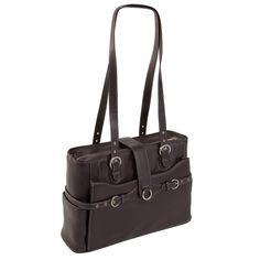 McKlein Siamod Fratti Ladies' Leather Laptop Tote