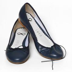 sapatilha, sapatilhas, couro, básica, marinho, bailarina, balé, ballet, artesanal, feita à mão, confortável, macia