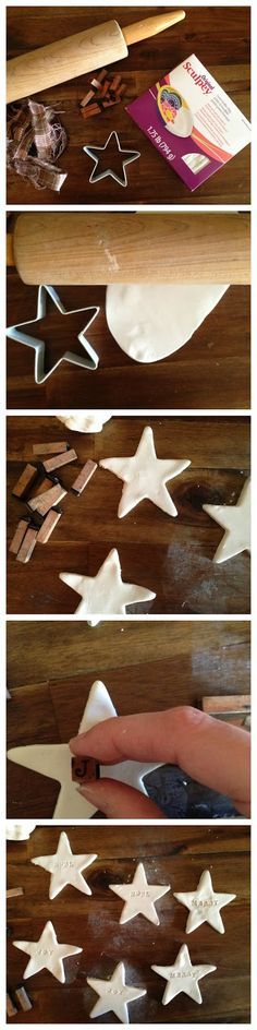 How to make cute little sculpy ornaments