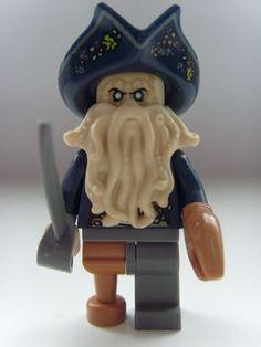 Davy Jones Minifigure