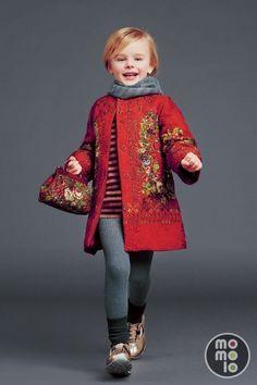 Look de Dolce & Gabbana | www.momolo.com | MOMOLO Street Style Kids :: La…