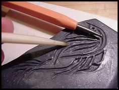 Make Your Own Polymer Clay Stamp