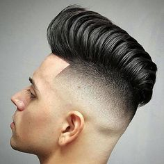 High Skin Fade with Long Modern Pompadour Hairstyles For Teenage Guys, Cool Mens Haircuts, Cool Hairstyles For Men, Hairstyles Haircuts, Short Haircuts, Teen Haircuts, Stylish Haircuts, Medium Hairstyles, Wedding Hairstyles