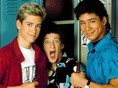 Saved by the bell! Love this show. 90s Tv Shows, Old Shows, Movies And Tv Shows, Jessie Spano, Zack Morris, Elizabeth Berkley, School Tv, Back To School, Beach Body Challenge